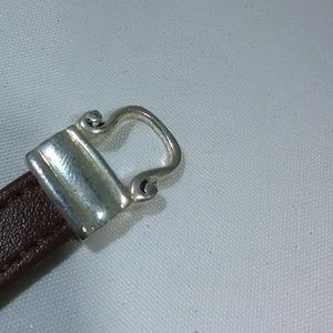 Jewelry - Vintage jewelry horseshoe leather bracelet